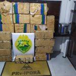 Após perseguição, PRE apreende mais de meia tonelada de maconha em Umuarama