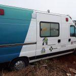 Homem é preso após furtar ambulância e sofrer acidente em Cruzeiro do Oeste
