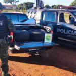 Polícia apreende 80 pneus contrabandeados em Francisco Alves