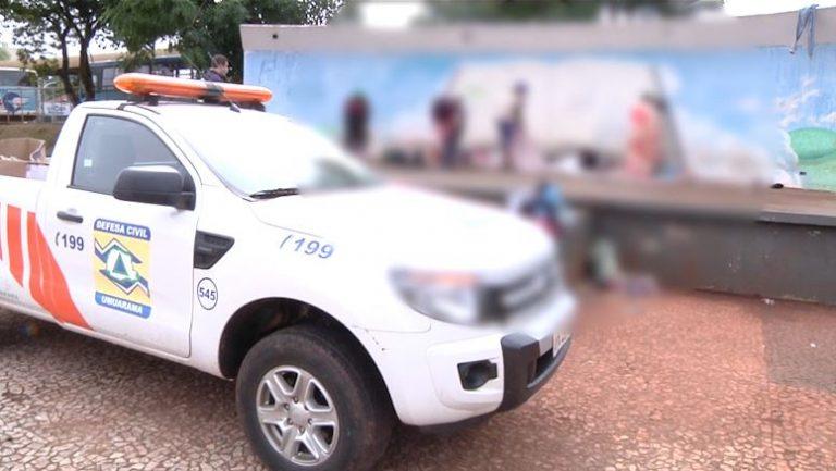 Ação conjunta aborda e orienta moradores de rua em Umuarama