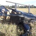 Piloto que transportava mala com quase R$ 500 mil em helicóptero faz pouso forçado no Paraná