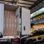 Receita Federal apreende R$ 342 milhões em mercadorias no Paraná