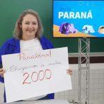 Aula Paraná atinge marca de 2 mil aulas gravadas