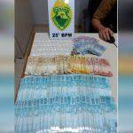 PM apreende cocaína e grande quantidade de dinheiro em Cafezal do Sul