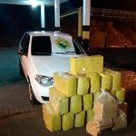 Batalhão de Polícia Rodoviária apreende R$ 1 milhão em maconha no noroeste do Paraná