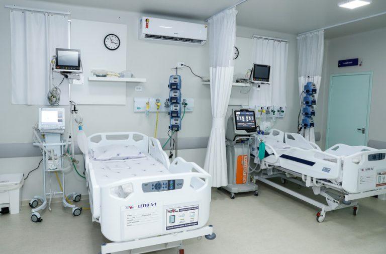 Governador Ratinho Junior abre 10 leitos de UTI para Covid-19 no Hospital Cemil, em Umuarama