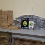 Policiais do Bope apreendem 128 quilos de maconha às margens do Rio Paraná
