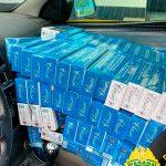 Homem abandona veículo com 15 caixas de cigarros contrabandeados em Cruzeiro do Oeste