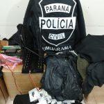 Polícia Civil prende cinco suspeitos de roubo a residência em Umuarama