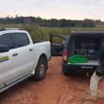 PRF apreende caminhonete roubada carregada com maconha em Alto Paraíso