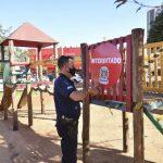 Praças e parques infantis de Umuarama estão interditados
