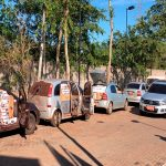 Polícia apreende 11 carros, três caminhões e grande quantidade de cigarros no Paraná