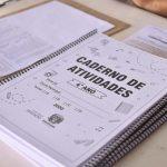 Educação prepara entrega de novos cadernos de atividades e aulas gravadas