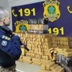 PRF bate recorde e apreende 66 toneladas de drogas no Paraná durante o 1º semestre