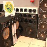 Polícia apreende caixas de som em Umuarama após denúncia de perturbação de sossego
