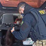 PRF apreende R$175 mil em cabelos contrabandeados em Guaíra