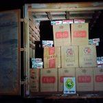 Caminhão carregado com 132 caixas de cigarros é apreendido pela PM em Terra Roxa