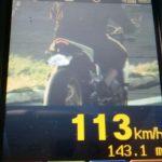 Motociclista é flagrado a 113 km/h na Ângelo Moreira da Fonseca, em Umuarama