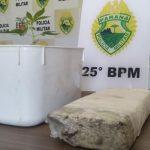 Polícia Militar prende homem por tráfico de drogas em Ivaté