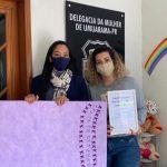 Delegacia da Mulher de Umuarama recebe painel para contabilizar violência sofrida por mulheres