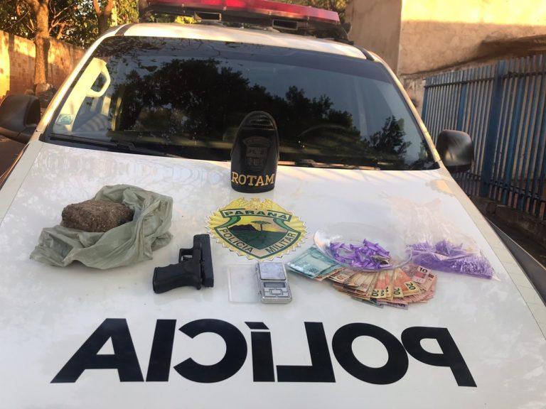 Polícia Militar apreendem grande quantidade de drogas em Umuarama