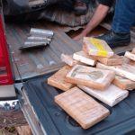 PM do Paraná intercepta 250 quilos de cocaína que seguiriam para SC e RS