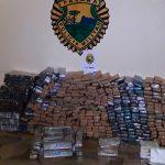 PM intercepta mais de meia tonelada de maconha no sudoeste do Paraná