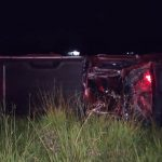 Homem morre após capotar caminhonete e ser ejetado na PR-182