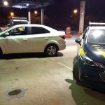 Durante fiscalização em Guaíra, PRF recupera carro furtado horas após o crime
