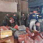 PRF apreende 6,3 toneladas de maconha e mais de 6 quilos de skunk no Oeste do Paraná