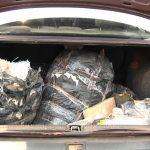 PRE de Cruzeiro do Oeste apreende carro carregado com drogas em Umuarama