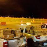 PRE apreende dois carros carregados com 45 mil maços de cigarros contrabandeados em Iporã