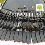 Ação conjunta apreende grande quantidade de armas na PR-323, em Cianorte