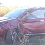 Motorista capota veículo roubado na rodovia entre Umuarama e Mariluz