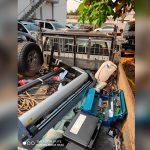 Polícia Civil recupera veículo e objetos furtados de empresa em Umuarama