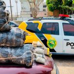 Policiamento em rodovias da região resulta em mais de 325 quilos de drogas apreendidas