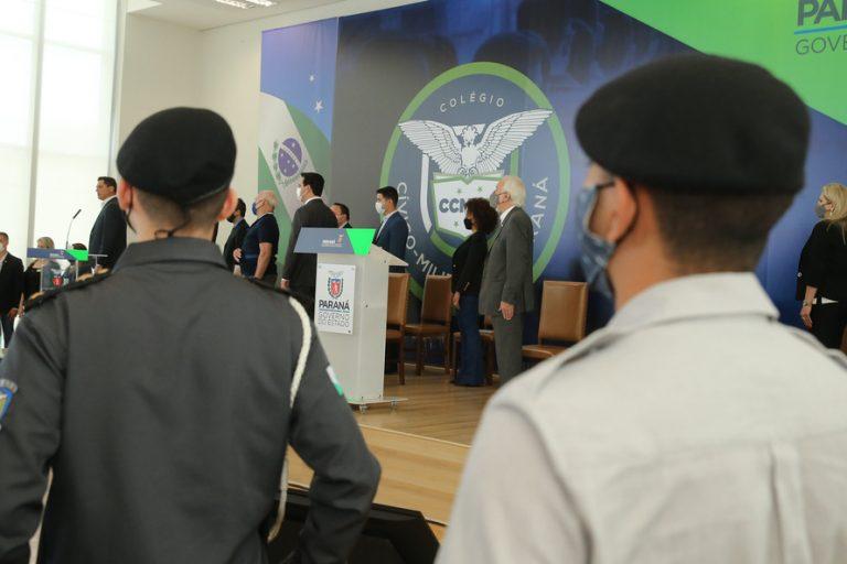Consulta pública aprova modelo cívico-militar em 163 colégios no Paraná