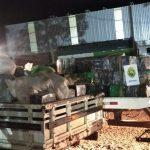 BPFron encontra quatro toneladas de maconha em chácara abandonada em Santa Helena