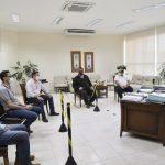 Diretores do Atacadão visitam prefeito e anunciam inauguração em Umuarama