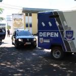 Presos da cadeia de Umuarama são transferidos para Penitenciária de Campo Mourão
