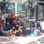 Grave acidente deixa feridos na avenida Paraná, em Umuarama