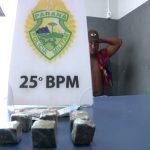 Homem é preso suspeito de tráfico de drogas no parque Industrial, em Umuarama