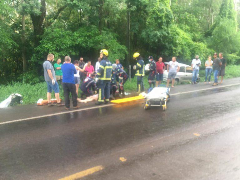 Duas pessoas morrem em grave acidente na PR-323, em Umuarama