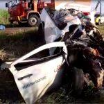 Jovem de Umuarama morre em grave acidente na PR-180 entre Goioerê e Moreira Sales