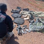 PRF prende criminoso com pistola e equipamentos para assaltos em Terra Roxa