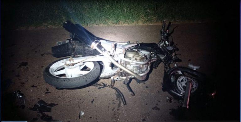 Motociclista morre após colidir contra um veículo Cruze na BR-272 em Francisco Alves