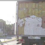 Polícia Militar de Umuarama aborda caminhão carregado com cerca de 600 caixas de cigarros