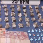 PM de Umuarama apreende grande quantidade de maconha e cocaína pronta para a venda