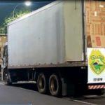 Mais de 1.200 caixas de cigarros contrabandeados foram apreendidos em Umuarama
