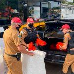 Policiais rodoviários apreendem mais de meia tonelada de maconha e haxixe em Cianorte